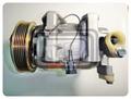 【TE汽配通】NISSAN 日產 TEANA 2.0 冷氣 壓縮機 R134 外匯全新品
