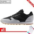 รองเท้าผู้ชาย REEBOK (รีบอค) AR1895 ,Classic Leather Perfect Split รองเท้ากีฬาผ้าใบ   /สีดำ