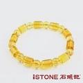 石頭記招財福星切刻黃水晶手鍊黃水晶