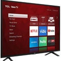 """TCL LED 4K HDR 120 Hz Wi-Fi with ROKU, 49"""" (Refurbished)"""
