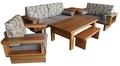 【 尚品傢俱】411-05  萊斯特 柚木自然邊木椅組/1+2+3木組椅/客廳木造沙發組/會客室木製桌椅組