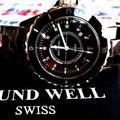 🚚 J12款 12顆真鑽精密陶瓷錶 瑞士錶 精品錶 ROUND WELL 浪威錶  藍寶石水晶錶面 原廠公司貨附序號卡 watch  12 genuine diamonds