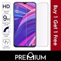 [BUY 1 FREE 1] Tempered Glass Screen Protector Clear For OPPO R17 PRO A3s AX5 R7S A37 A33 F1S A59 R9 R9S Plus R7 Neo 7 A57 R11 R11S R15 Pro A77 A75 A73s A73  - Clear ( Non full cover / coverage )