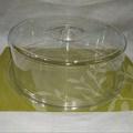 全透明壓克力圓形12吋甜點蛋糕保鮮罩保濕展示盒