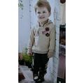 ✂️剪標價✂️諾貝達專櫃童裝 男童連帽不倒絨保暖1+1套裝 尺寸:90~105公分 #1481238