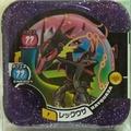 神奇寶貝tretta 卡匣-冠軍卡-色違烈空座