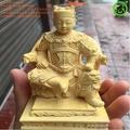 黃楊木雕廣澤尊王郭圣王隨身木質佛龕小佛盒迷你神堂佛堂供奉神像