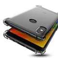 Sheto For Xiaomi Redmi Note 5 AI Dual Camera Transparent Clear Case Air Bag Shockproof Full Body Protective Back Cover