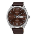 [Seiko] Seiko SNKN49 Recrafted Series Brown Leather Strap Band Brown Dial Watch by Seiko Watches [From USA] - intl