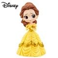 深色版【日本正版】迪士尼 Q posket 美女與野獸 貝兒公主 Belle 公仔 模型 萬普 Banpresto - 373097-B