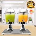 Juice Dispenser โถจ่ายน้ำ โถจ่ายน้ำผลไม้ โถจ่ายน้ำหวาน ขนาด 8 ลิตร หัวคู่