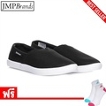 รองเท้าผู้ชายREEBOK (รีบอค) V69297,REEBOK ROYAL 3D SLIP  รองเท้ากีฬาผ้าใบ   /สีดำ