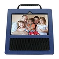 Protective Case for Echo Show,Leather Case for Echo Show - Optimal protection and Premium Leather - Blue