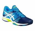 ASICS Gel Blast 7 Mens Indoor Shoes Blue/White/Yellow