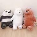 [現貨新品] 熊熊遇見你 大大 阿極 胖達 玩偶 公仔 娃娃 we bare bears 三兄弟 miniso 名創優品