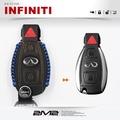 【2M2鑰匙皮套】Infiniti Q30 極致汽車 感應鑰匙 智慧型鑰匙 鑰匙包 棕色 兩鍵款