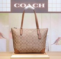 Coach handbag lady's handbag(light brown)
