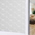 สติ๊กเกอร์ฝ้าติดกระจก แบบมีกาวในตัว  GS081(หน้ากว้าง 90cmx5เมตร)