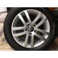 中古 福斯 原廠16吋含胎 VW T4 Golf Caddy touran tiguan passat