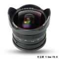 【B+W官方旗艦店】七工匠 7.5mm F2.8 黑色 微單鏡頭