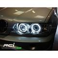 BMW X5 E53 (98~02) 前期 燻黑/晶鑽 CCFL光圈魚眼大燈組