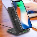10W Qi Wireless Fast Charger with Cooling Fan for iPhone X 8 Plus Samsung S8