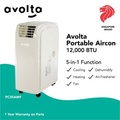 Avolta Portable Aircon PC35AMF 12,000 BTU