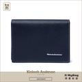Kinloch Anderson 金安德森 皮夾 引領風潮 橫式名片夾 深藍 KA173108NYF 得意時袋