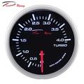 【D Racing三環錶/改裝錶】52mm單色白光 高反差 0~4BAR 機械式渦輪錶 BOOST GAUGE(增壓錶) 入門款 柴油車可用