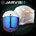 ♦︎〈JARVISH〉Flash F1 智慧安全帽 暴風白 XXL