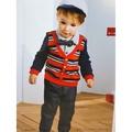 Roberta di Camerino 諾貝達童裝 男童 周歲禮盒 襯衫+領結 套裝3件組-秋冬