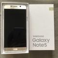 三星Samsung Note5 32g金📱台南二手手機