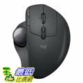 [107美國直購] 滑鼠 Logitech MX ERGO Advanced Wireless Trackball for Windows PC and Mac