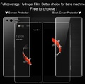 IMAK Full Cover Hydrogel Film for ZTE Axon M 0.15mm Front Film  Back Cover Screen Protector