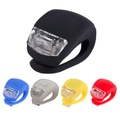 Silicone Bicycle Light Waterproof Cycling Head Front Rear Wheel Light Bike Accessories Bike Front Handlebar Lights