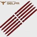 【韓國SELPA】18cm鋁合金露營釘/營釘/帳篷釘(10入組)紅色