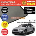 Subaru XV 2018-2018 (Facelift) Customised Car Accessories Window Magnetic Sunshades 6 Pieces (Best Compliment with Car Window Solar Film Tint)