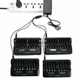Andel 32槽智能充電器(中古)可充3,4號電池,修復功能。