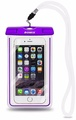 Romix Underwater Fluorescent Waterproof Bag for Mobile Phone Purple