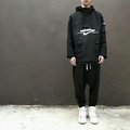 NIKE LAB 耐吉 加厚 多功能 機能 衝鋒衣 夾克 外套 黑色