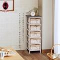 小閣樓五籃實木收納櫃