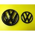 VW福斯 LOGO MARK 水箱罩標誌 GOLF 6 VI GTI TSI TDI CL 前+後標誌  亮黑