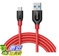 [106美國直購] Anker PowerLine+ USB-C to USB 3.0 cable (6ft),for USB Type-C Devices充電線 傳輸線