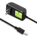 zeawhc US/ EU Plug Power Adapter for Echo / Fire TV / Echo Show