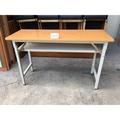 年強二手家具-塑鋼折桌*折疊桌*會議桌  90212252    數量10