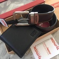 Levi's Belt and Wallet Gift Set 100%