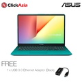 "ASUS VivoBook (S530UN-BQ077T) - 15.6""/i7-8550U/DDR4 8GB/256SSD+1TB/NVDIA MX150/Windows 10(Green)"