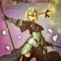 💖 [備份盒] 大方盒 美女 公仔 黑貞德 Fate Apocrypha Jeanne d'Arc 旗幟 握劍