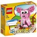 店推兒童節禮物【現貨即發】樂高LEGO 生肖系列 40186 豬年/40235 狗年/40234 雞
