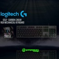 LOGITECH G512 CARBON (LINEAR/TACTILE/GX Blue) RGB MECHANICAL GAMING KEYBOARD *END OF MONTH PROMO*
